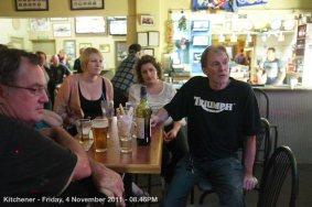 Kitchener - Friday, 4 November 2011 - 08.46PM