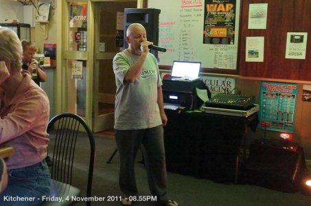 Kitchener - Friday, 4 November 2011 - 08.55PM