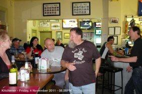 Kitchener - Friday, 4 November 2011 - 08.56PM