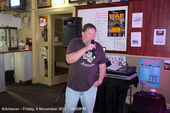 Kitchener - Friday, 4 November 2011 - 08.59PM