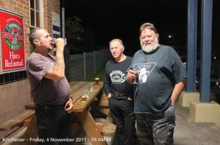 Kitchener - Friday, 4 November 2011 - 09.04PM