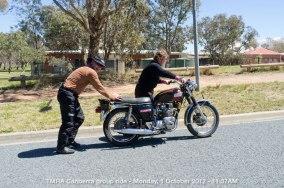 TMRA Canberra group ride - Monday, 1 October 2012 - 11.37AM