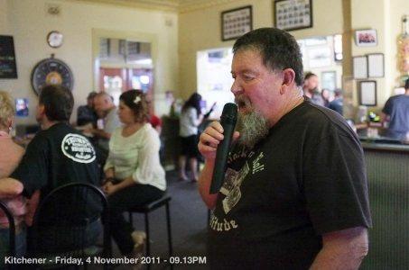 Kitchener - Friday, 4 November 2011 - 09.13PM