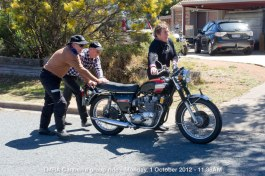 TMRA Canberra group ride - Monday, 1 October 2012 - 11.38AM