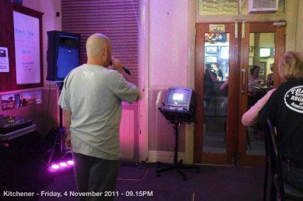 Kitchener - Friday, 4 November 2011 - 09.15PM