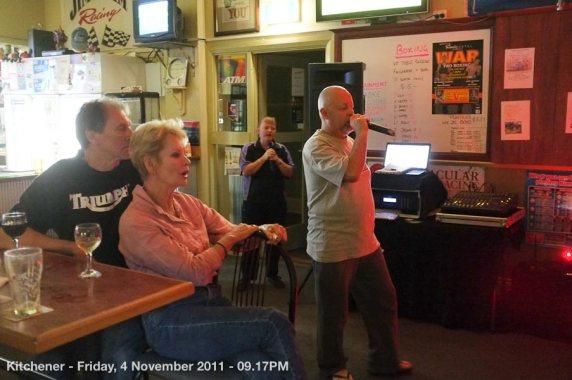Kitchener - Friday, 4 November 2011 - 09.17PM