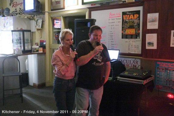 Kitchener - Friday, 4 November 2011 - 09.20PM