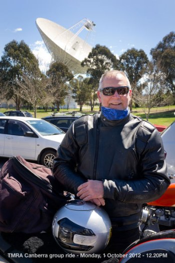 TMRA Canberra group ride - Monday, 1 October 2012 - 12.20PM