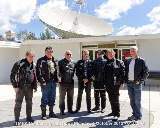TMRA Canberra group ride - Monday, 1 October 2012 - 01.03PM