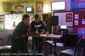 Kitchener - Friday, 4 November 2011 - 09.34PM