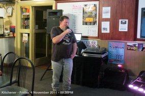 Kitchener - Friday, 4 November 2011 - 09.38PM