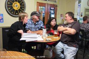 Kitchener - Friday, 4 November 2011 - 09.43PM