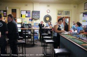 Kitchener - Friday, 4 November 2011 - 09.44PM
