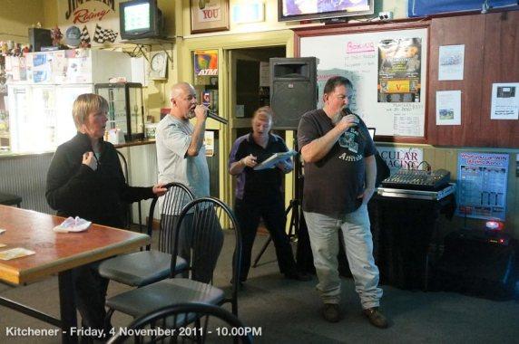 Kitchener - Friday, 4 November 2011 - 10.00PM