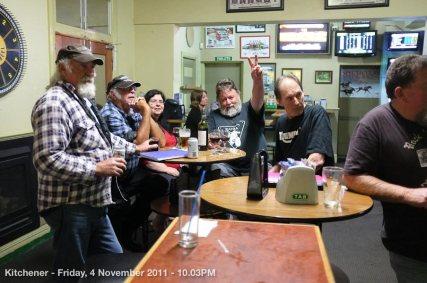 Kitchener - Friday, 4 November 2011 - 10.03PM