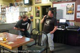 Kitchener - Friday, 4 November 2011 - 10.11PM
