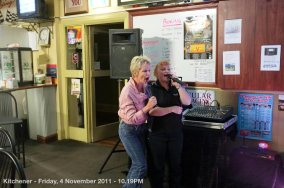 Kitchener - Friday, 4 November 2011 - 10.19PM