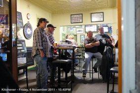 Kitchener - Friday, 4 November 2011 - 10.40PM