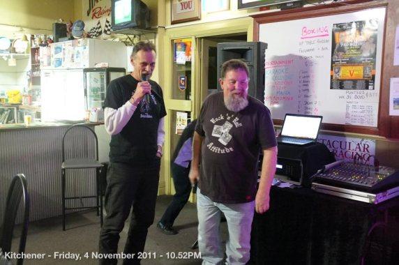Kitchener - Friday, 4 November 2011 - 10.52PM