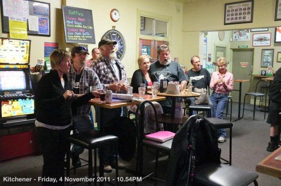 Kitchener - Friday, 4 November 2011 - 10.54PM