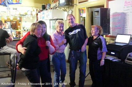 Kitchener - Friday, 4 November 2011 - 11.16PM