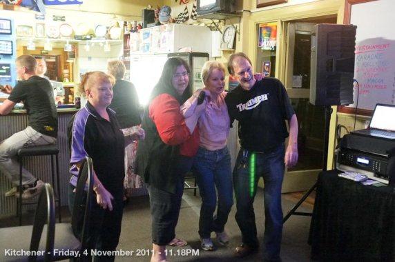 Kitchener - Friday, 4 November 2011 - 11.18PM