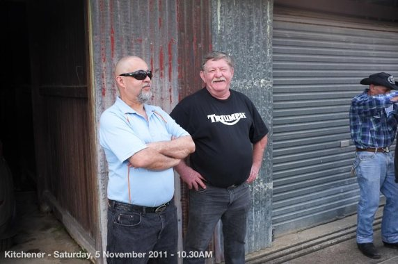 Kitchener - Saturday, 5 November 2011 - 10.30AM