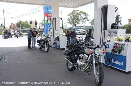 Kitchener - Saturday, 5 November 2011 - 10.53AM