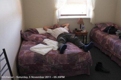 Kitchener - Saturday, 5 November 2011 - 05.30PM