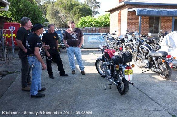 Kitchener - Sunday, 6 November 2011 - 08.08AM