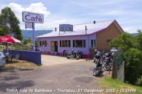 TMRA ride to Bemboka - Thursday, 27 December 2012 - 01.17PM