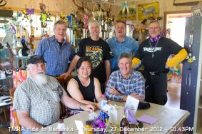 TMRA ride to Bemboka - Thursday, 27 December 2012 - 01.43PM