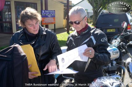 TMRA Bundanoon weekend - Saturday, 16 March 2013 - 10.26AM