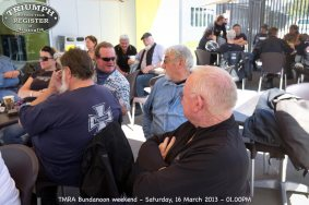 TMRA Bundanoon weekend - Saturday, 16 March 2013 - 01.00PM