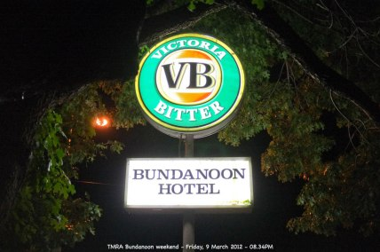 TMRA Bundanoon weekend - Friday, 9 March 2012 - 08.34PM