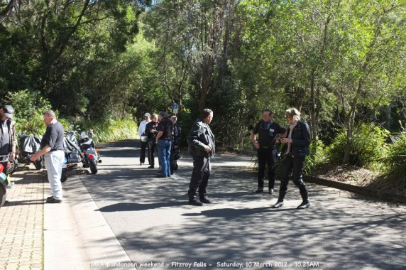 TMRA Bundanoon weekend - Fitzroy Falls - Saturday, 10 March 2012 - 10.25AM