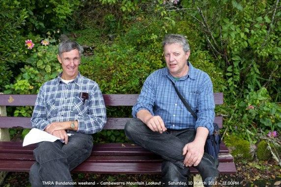 TMRA Bundanoon weekend - Cambewarra Mountain Lookout - Saturday, 10 March 2012 - 12.00PM