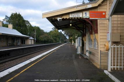 TMRA Bundanoon weekend - Sunday, 11 March 2012 - 07.42AM