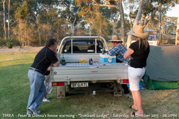 "TMRA - Peter & Donna's house warming - ""Ironbark Lodge"" - Saturday, 19 October 2013 - 06.21PM"