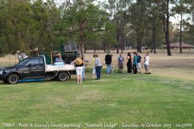 "TMRA - Peter & Donna's house warming - ""Ironbark Lodge"" - Saturday, 19 October 2013 - 06.37PM"