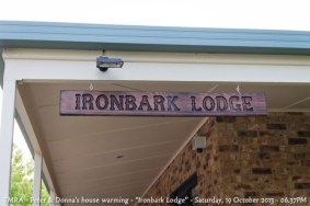 "TMRA - Peter & Donna's house warming - ""Ironbark Lodge"" - Saturday, 19 October 2013 - 06.37PM"