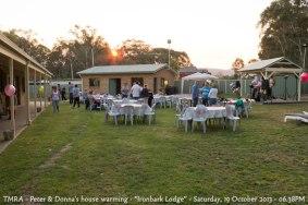 "TMRA - Peter & Donna's house warming - ""Ironbark Lodge"" - Saturday, 19 October 2013 - 06.38PM"