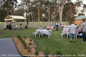 "TMRA - Peter & Donna's house warming - ""Ironbark Lodge"" - Saturday, 19 October 2013 - 06.38PM"