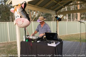 "TMRA - Peter & Donna's house warming - ""Ironbark Lodge"" - Saturday, 19 October 2013 - 06.40PM"