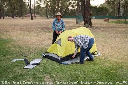 "TMRA - Peter & Donna's house warming - ""Ironbark Lodge"" - Saturday, 19 October 2013 - 07.07PM"