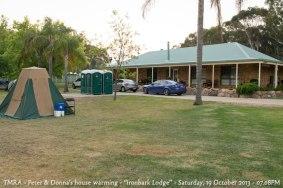 "TMRA - Peter & Donna's house warming - ""Ironbark Lodge"" - Saturday, 19 October 2013 - 07.08PM"