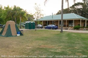 "TMRA - Peter & Donna's house warming - ""Ironbark Lodge"" - Saturday, 19 October 2013 - 07.08PM"