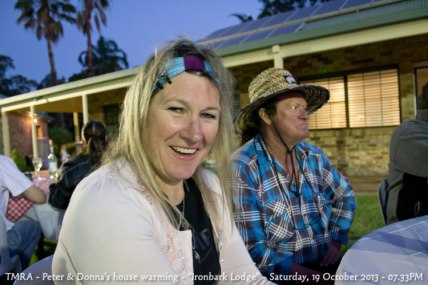 "TMRA - Peter & Donna's house warming - ""Ironbark Lodge"" - Saturday, 19 October 2013 - 07.33PM"