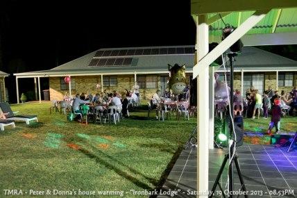 "TMRA - Peter & Donna's house warming - ""Ironbark Lodge"" - Saturday, 19 October 2013 - 08.53PM"