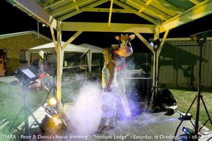 "TMRA - Peter & Donna's house warming - ""Ironbark Lodge"" - Saturday, 19 October 2013 - 08.54PM"